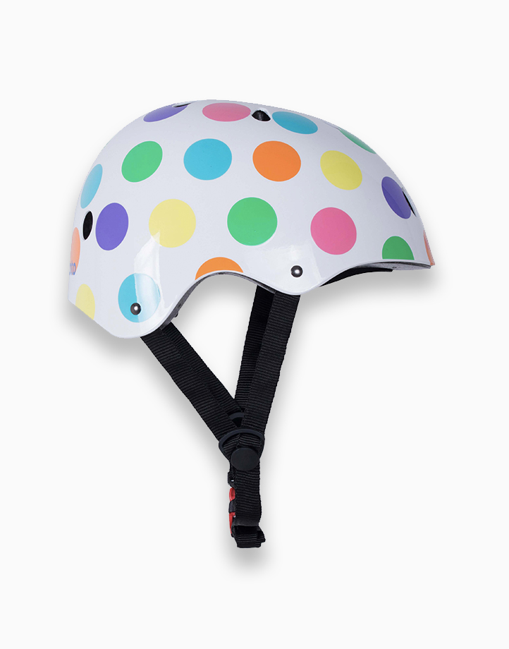 Safety Kids Helmet (Small) by Kiddimoto | Pastel Dotty