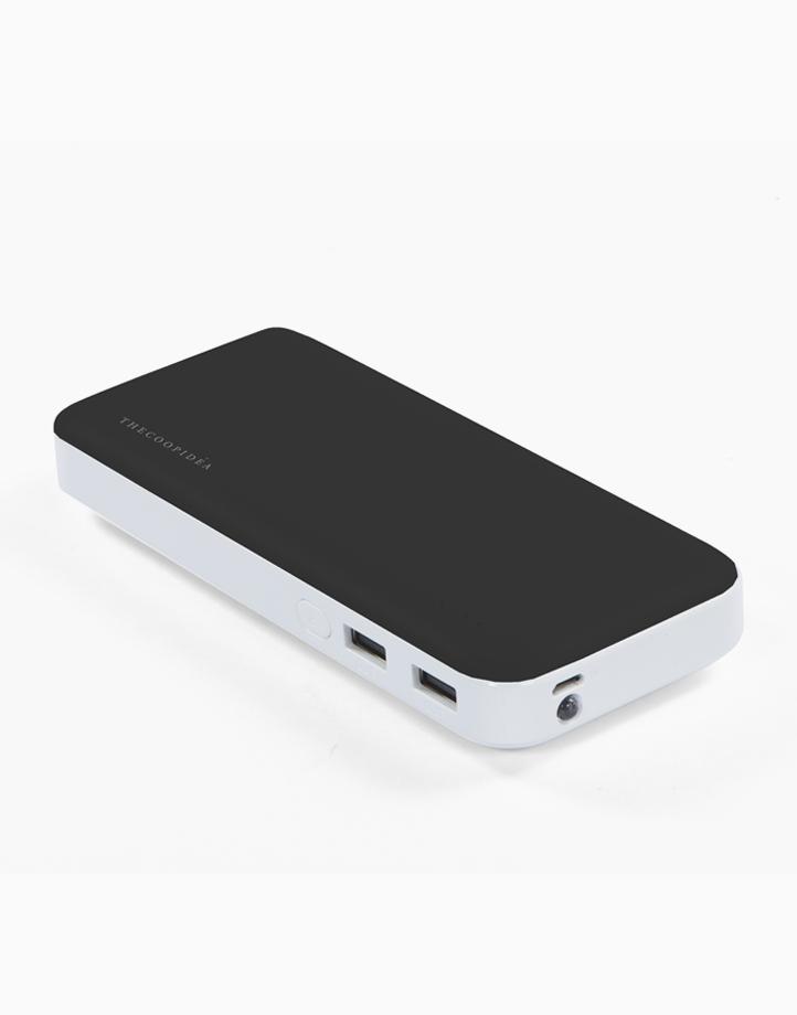 Clay Pro Dual USB 15000mAh Powerbank by thecoopidea | Black