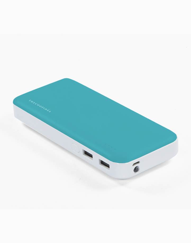 Clay Pro Dual USB 15000mAh Powerbank by thecoopidea | Blue