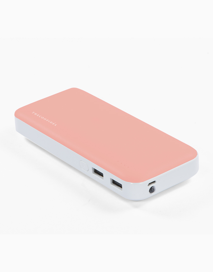 Clay Pro Dual USB 15000mAh Powerbank by thecoopidea | Coral
