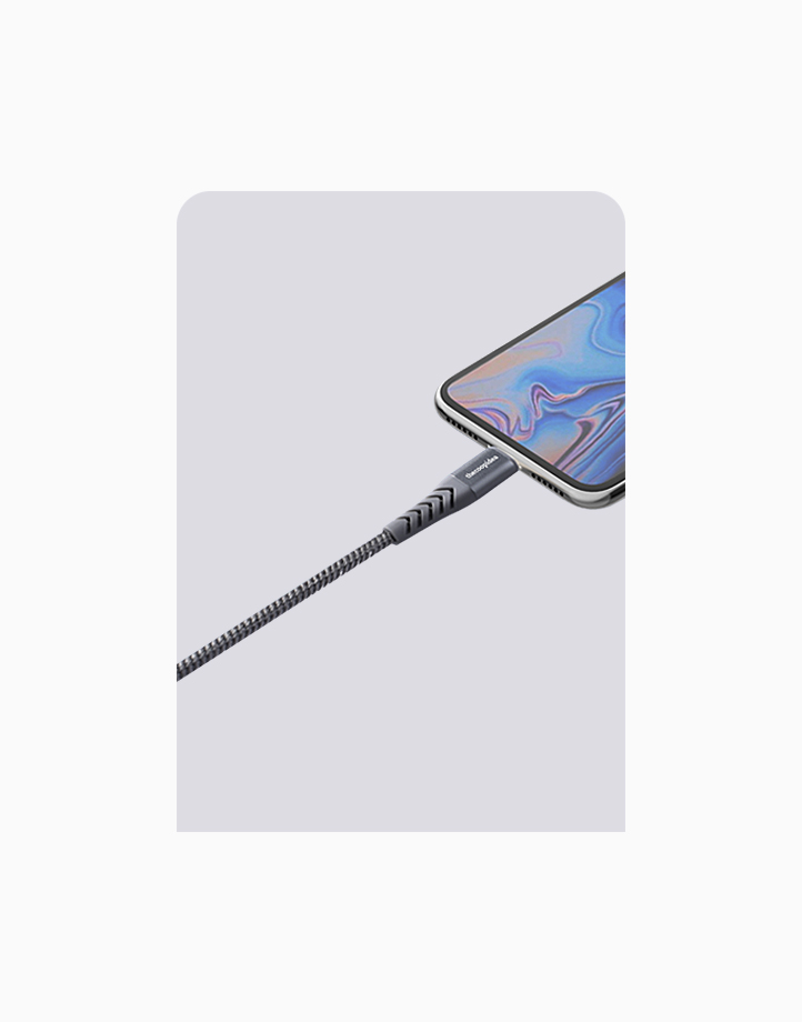 Flex Pro 1.2m MFI Lightning Cable for iPhone by thecoopidea | Grey