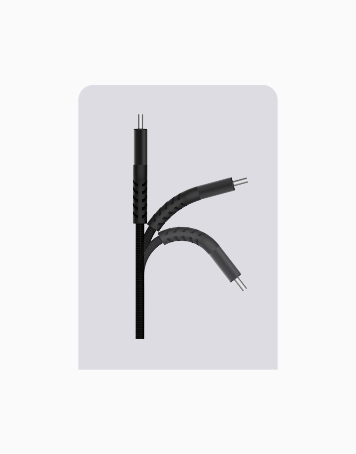 Flex Pro 1.2m Type C to Type C Cable by thecoopidea   Black