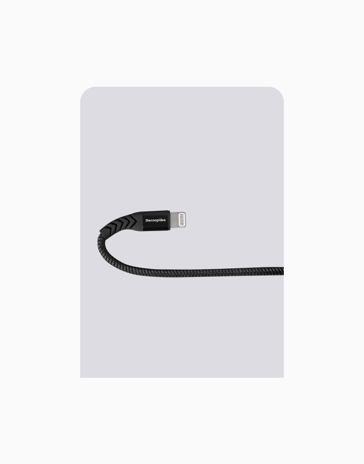 Flex Pro 2m MFI Lightning Cable for iPhone by thecoopidea | Black