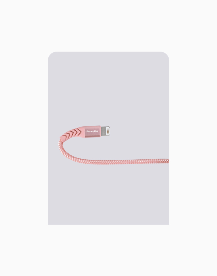 Flex Pro 2m MFI Lightning Cable for iPhone by thecoopidea | Pink