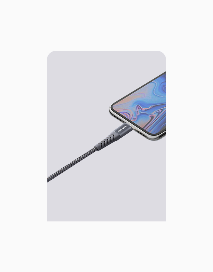 Flex Pro 2m MFI Lightning Cable for iPhone by thecoopidea | Grey
