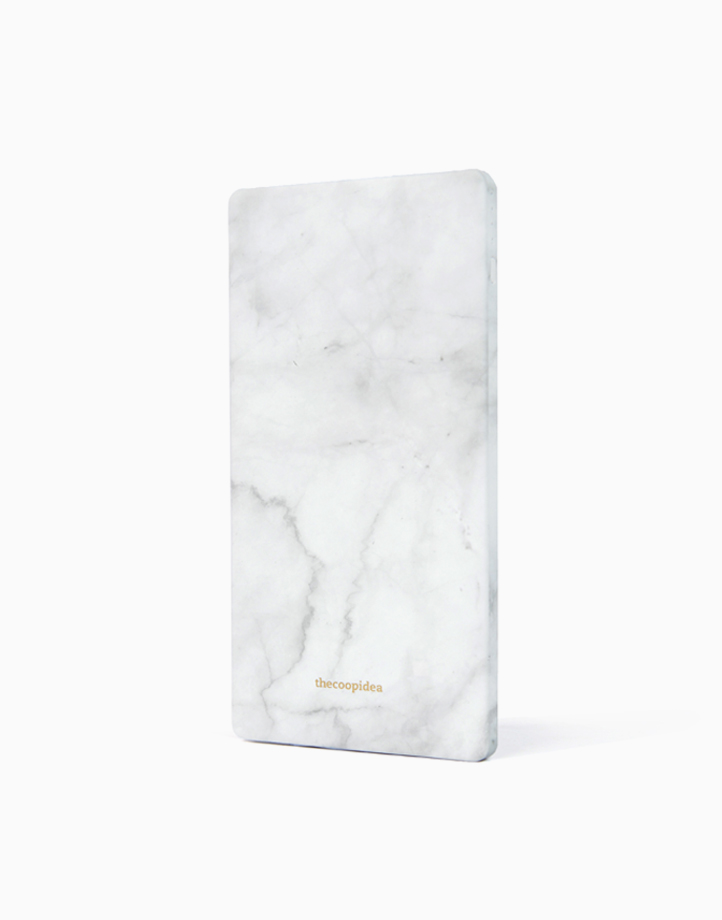 Journey 5000mAh Slim Powerbank by thecoopidea   Marble White