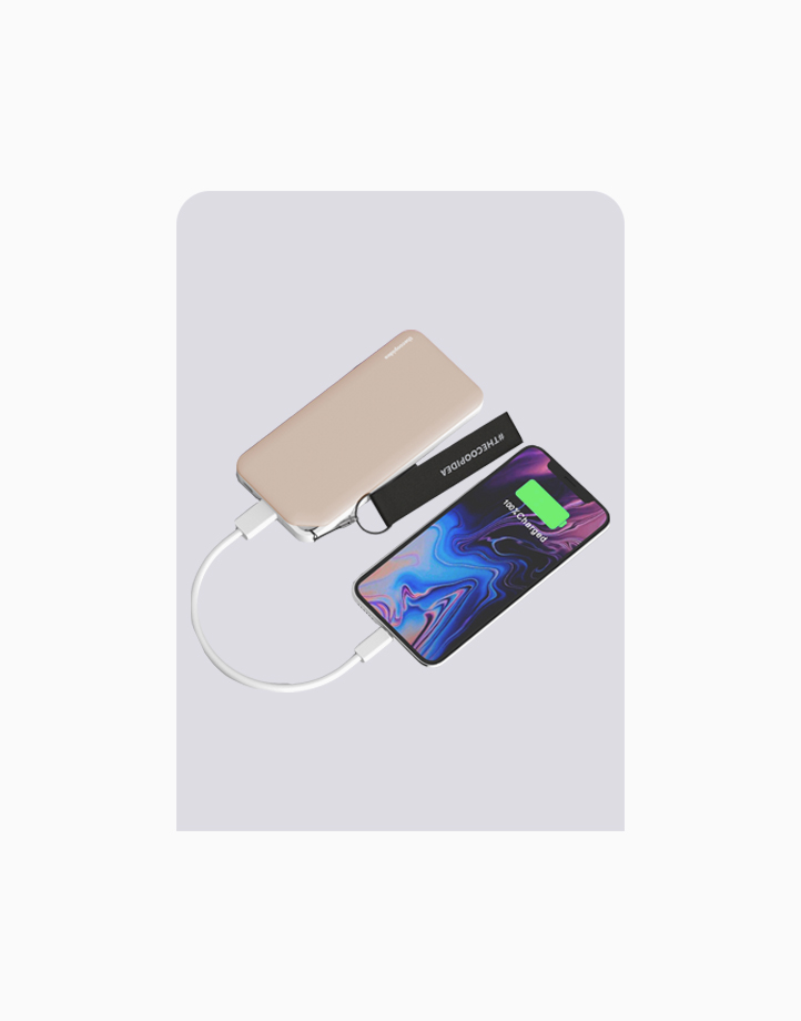PLANK Type-C 6000mAh Powerbank by thecoopidea   Gold