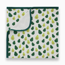 Bamboo stretch swaddle %28double layered%29   avocado print