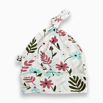 Bamboo knotted hat  floral