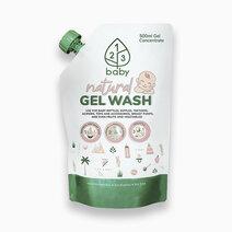 123baby dishwashing gel 500ml refill pack