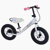 Kiddimoto balance bike super junior max pastel dotty