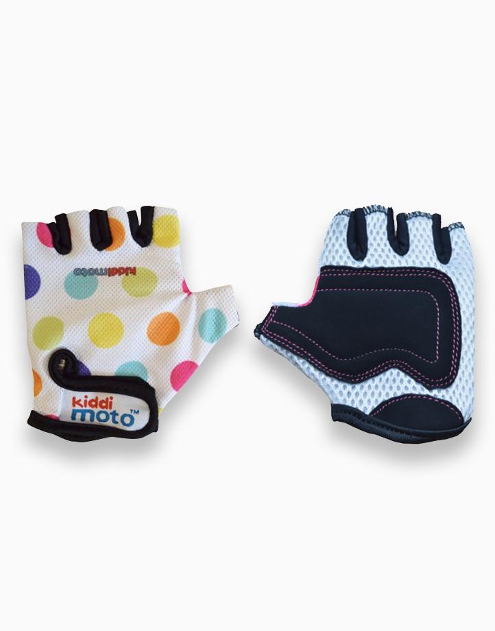 Cycling Gloves (Small) by Kiddimoto | Pastel Dotty