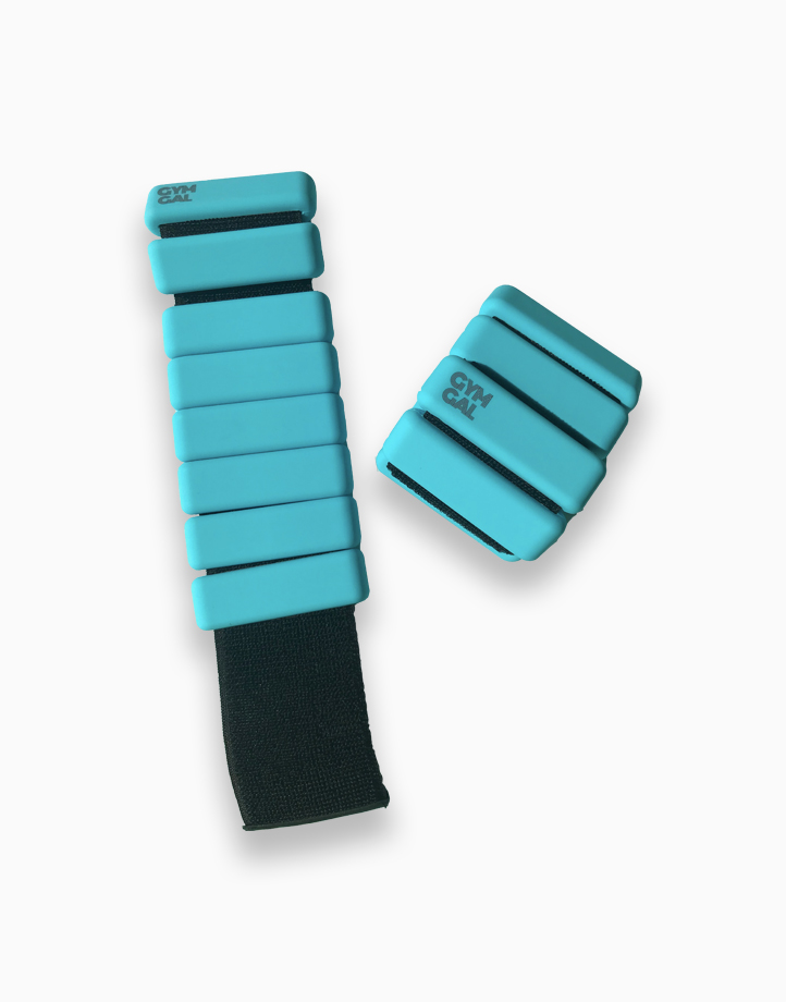 Weighted Bangles by Gymgal | Aqua