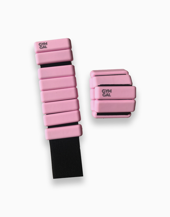 Weighted Bangles by Gymgal | Pink