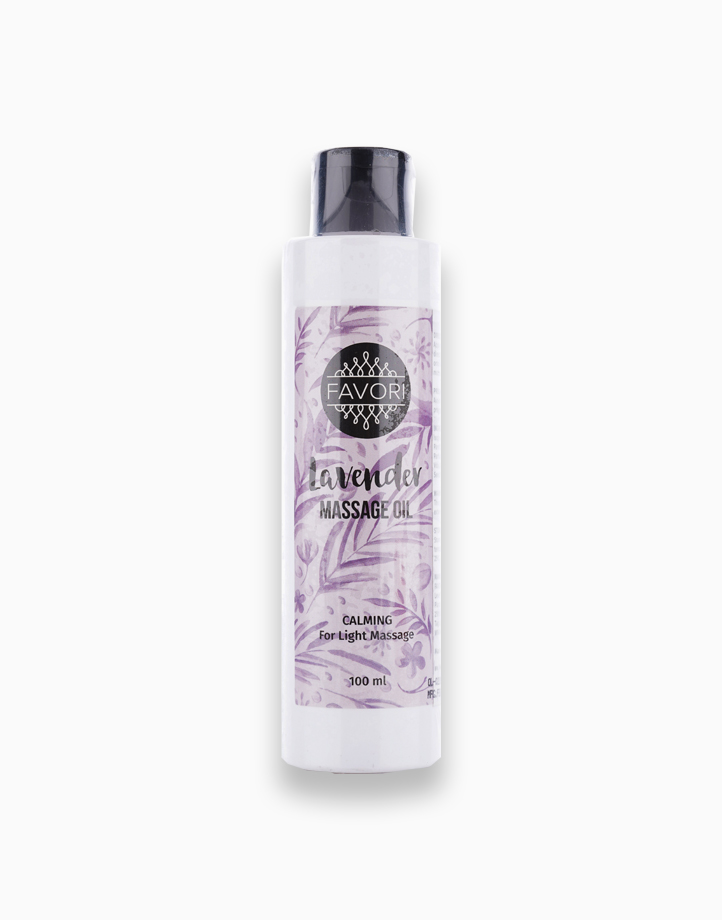 Lavender Massage Oil (100ml) by FAVORI