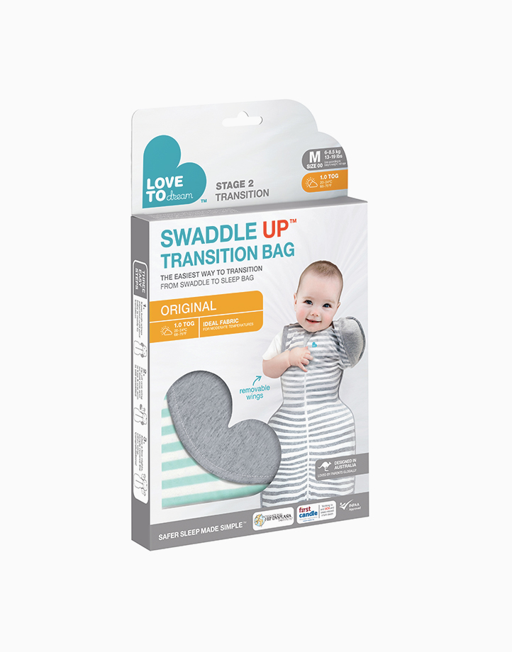 Swaddle UPª Transition Bag 1.0 TOG Original Mint by Love to Dream | M