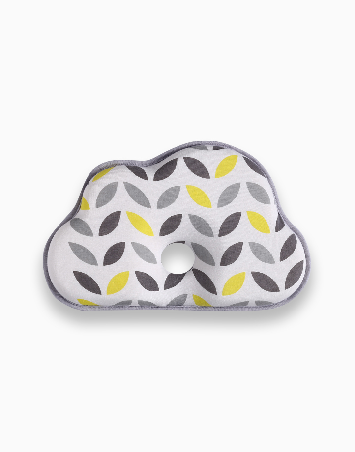 Memory Foam Pillow by Lily and Tucker | Gray and Yellow Leaves