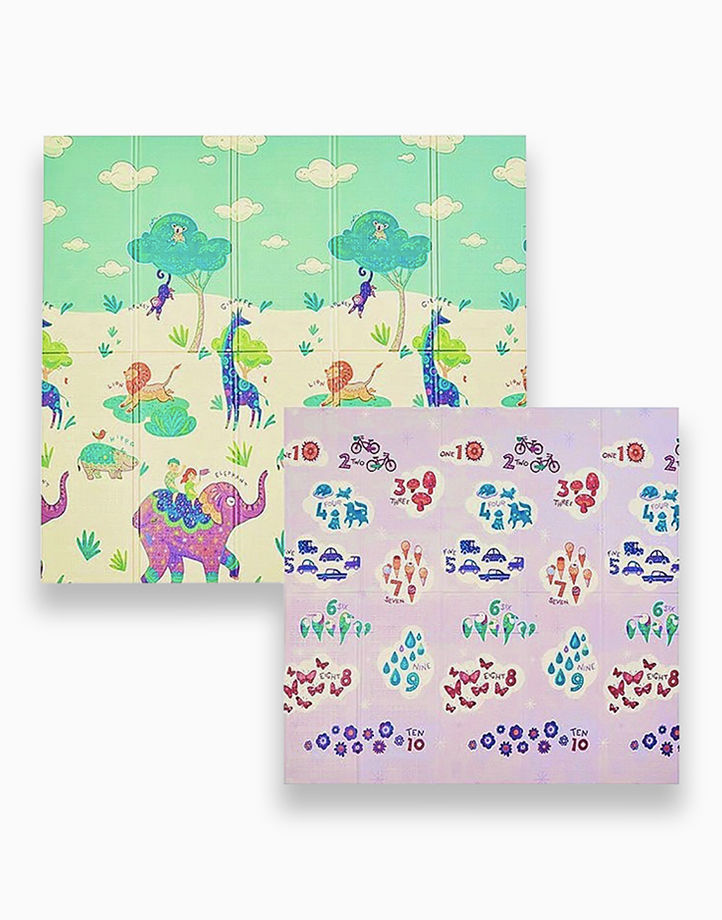 Safari / Numbers Playmat by Lily and Tucker