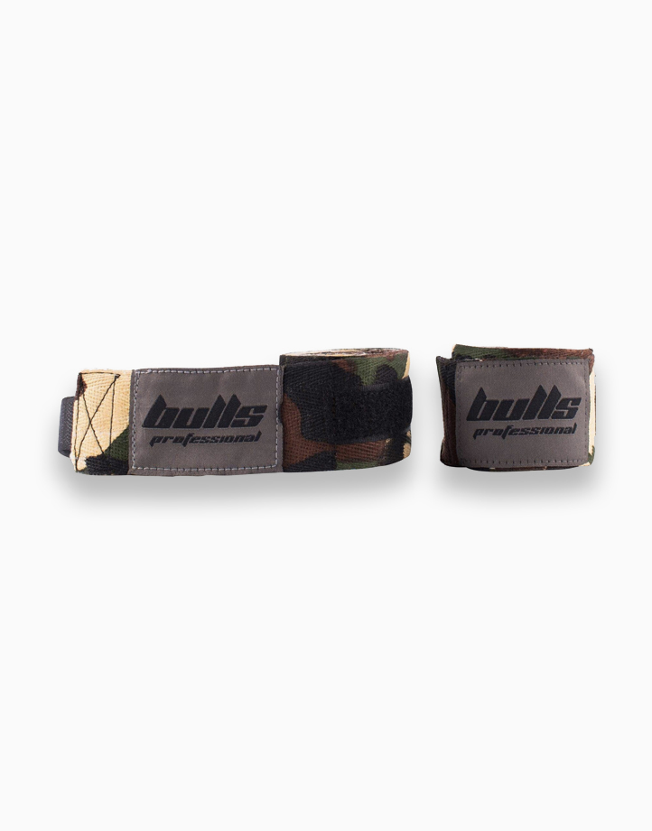 Professional Hand Wraps - Cotton by Bulls | Camouflage