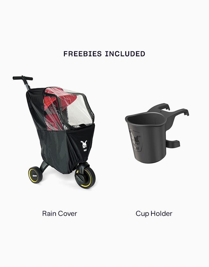 Liki Trike S3 (w Free Rain Cover & Cup Holder) by Doona | Grey Hound