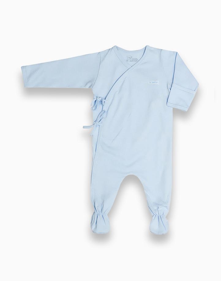 Sleepsuit by St. Patrick Baby   Powder Blue