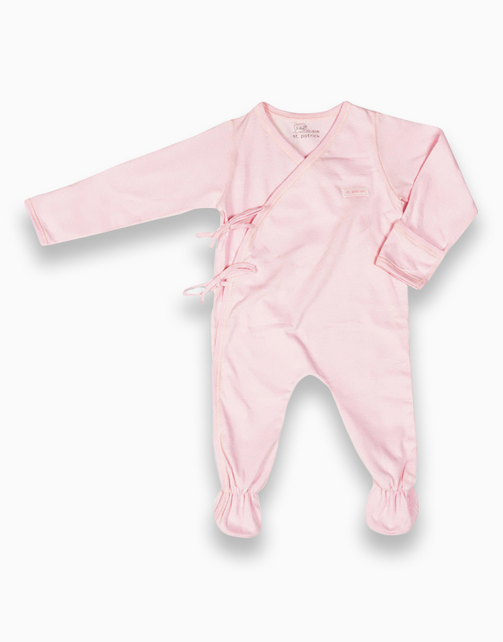 Sleepsuit by St. Patrick Baby   Powder Pink