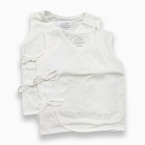 St. patrick tie side shirt sleeveless %28pure white%29