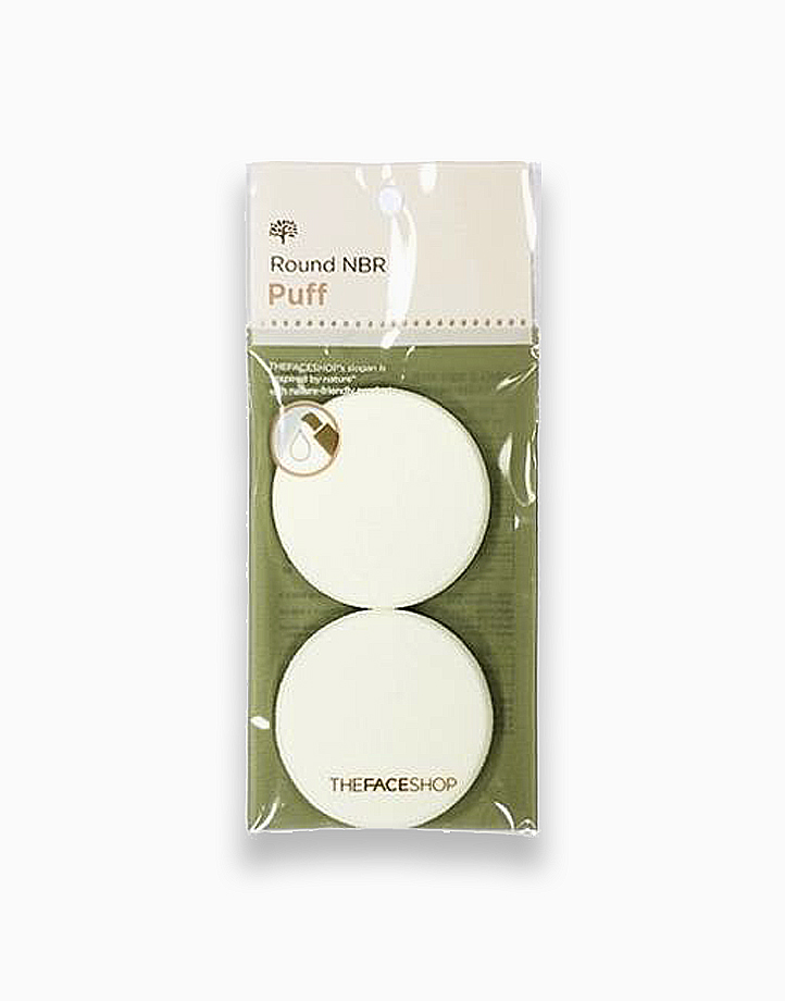 Round NBR Puff by The Face Shop