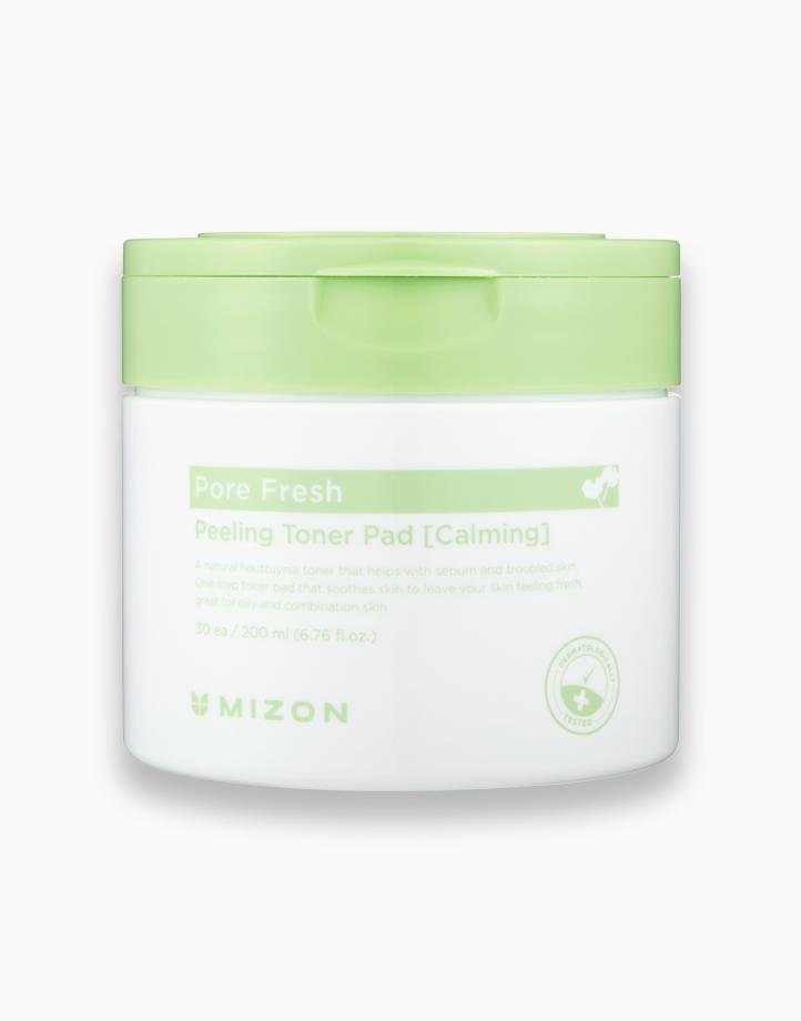 Pore Fresh Peeling Toner Pad (Calming), 30 Pads by Mizon