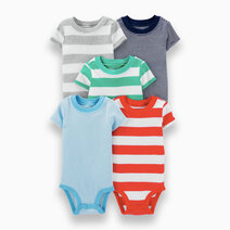Carter s 5 piece stripes bodysuit set   1h356310 %284%29