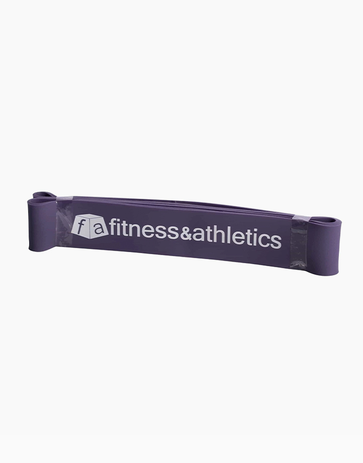 """FitBand Strength 19"""" Resistance Band (Purple) by Fitness & Athletics"""