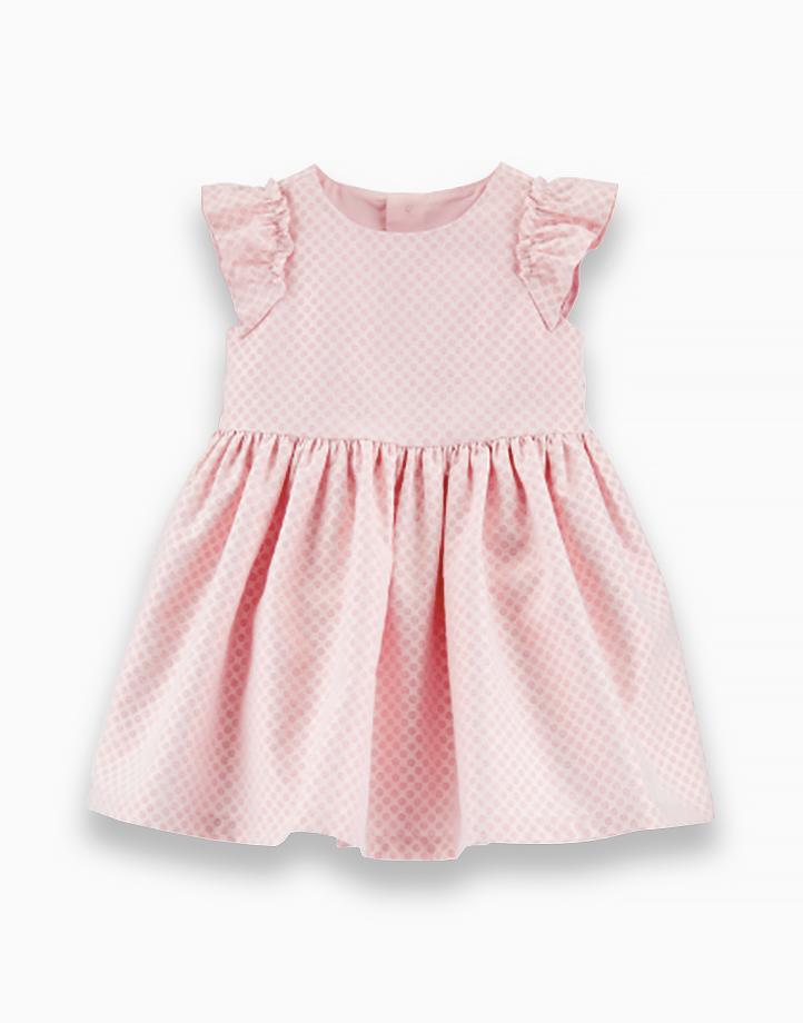 Baby Polka Dot Jacquard Dress - 1H313010 by Carter's   9M