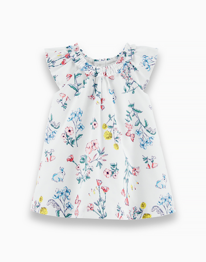 Floral Dress with Ribbon - 1H313810 by Carter's | NB