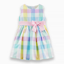 Carter s gingham dress with ribbon  1h729610 %286%29