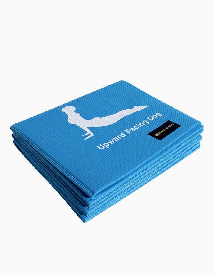 Fitness & Athletics Foldable Yoga Mat by Fitness & Athletics  | Blue