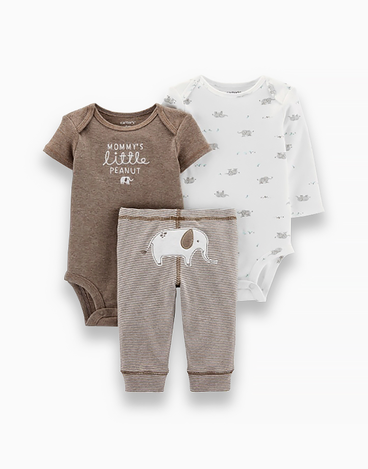 3-Piece Elephant Little Character Set by Carter's | NB