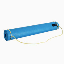Fitness athletics yoga mat 3mm blue