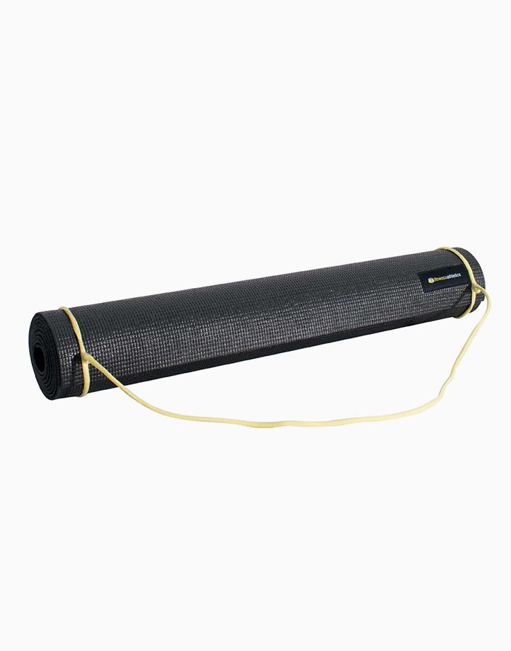 Fitness & Athletics Yoga Mat 3mm by Fitness & Athletics  | Black