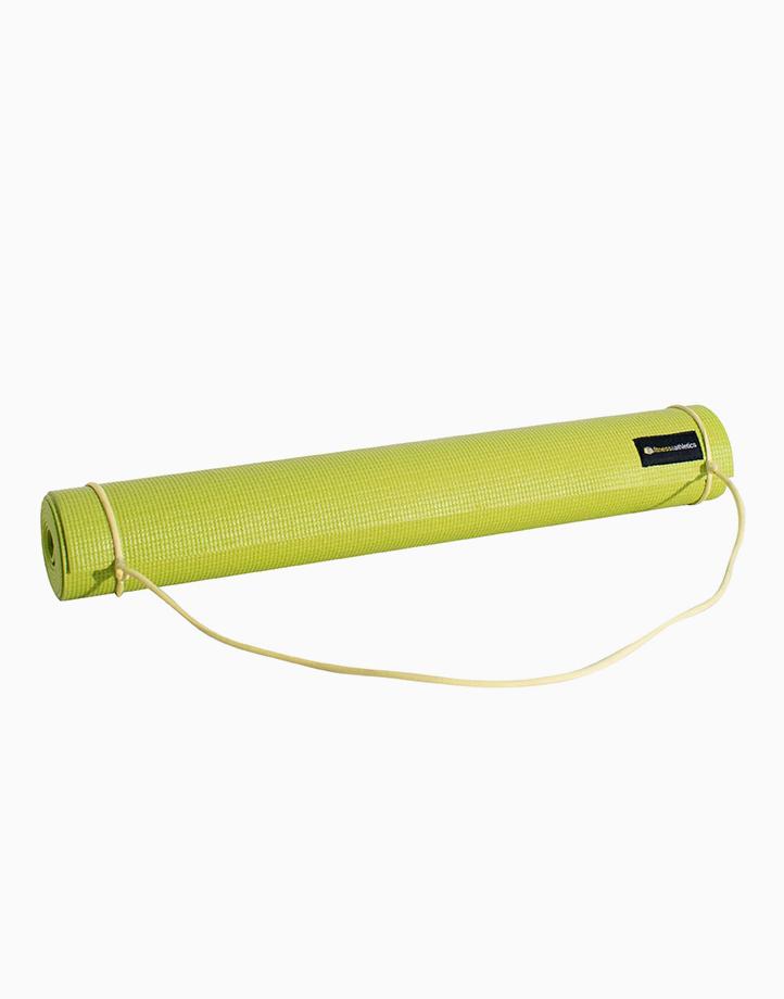 Fitness & Athletics Yoga Mat 3mm by Fitness & Athletics  | Green