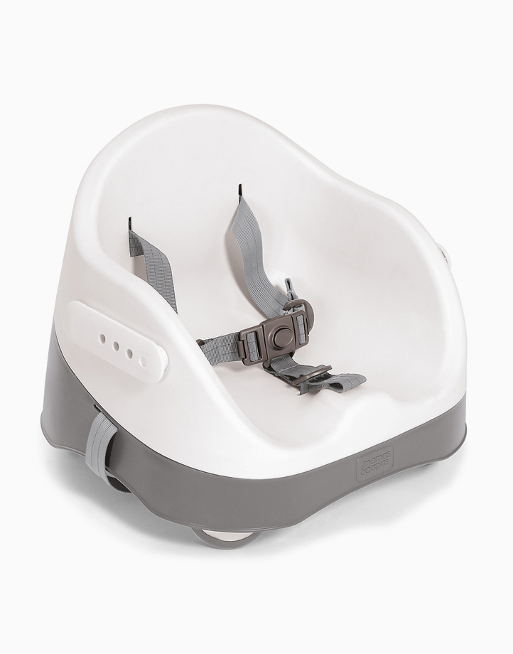 Baby Bud Booster Seat with Detachable Tray by Mamas and Papas | Grey