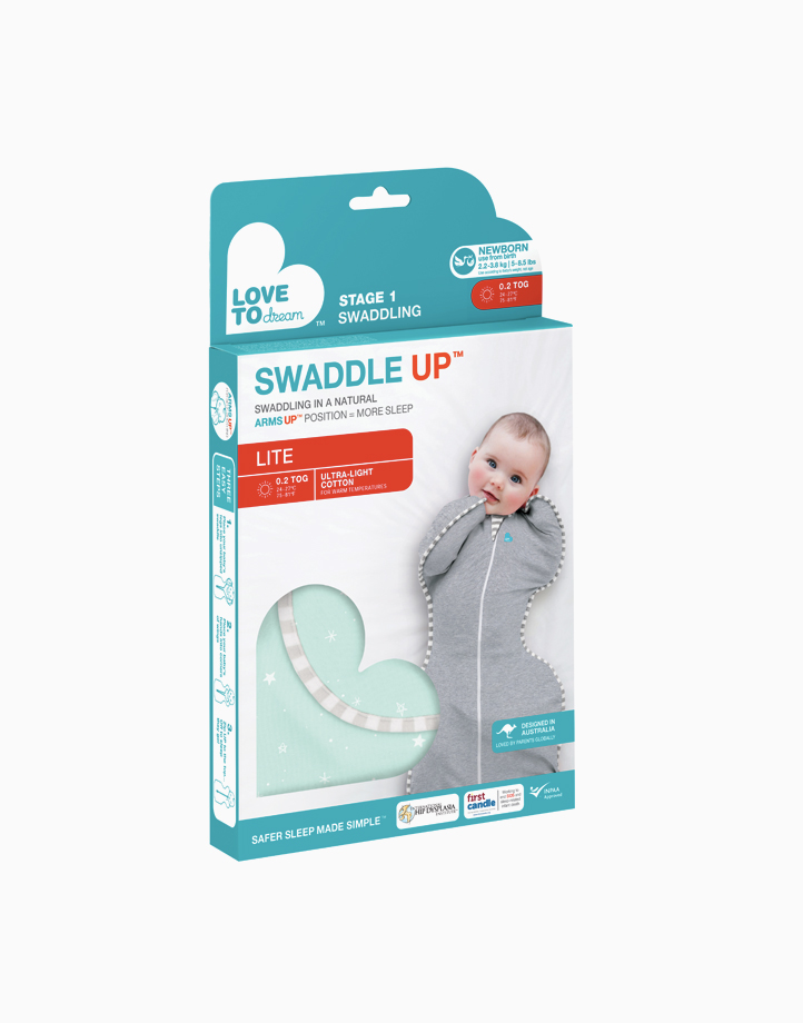 Swaddle UPª 0.2 TOG Lite Mint by Love to Dream   Newborn