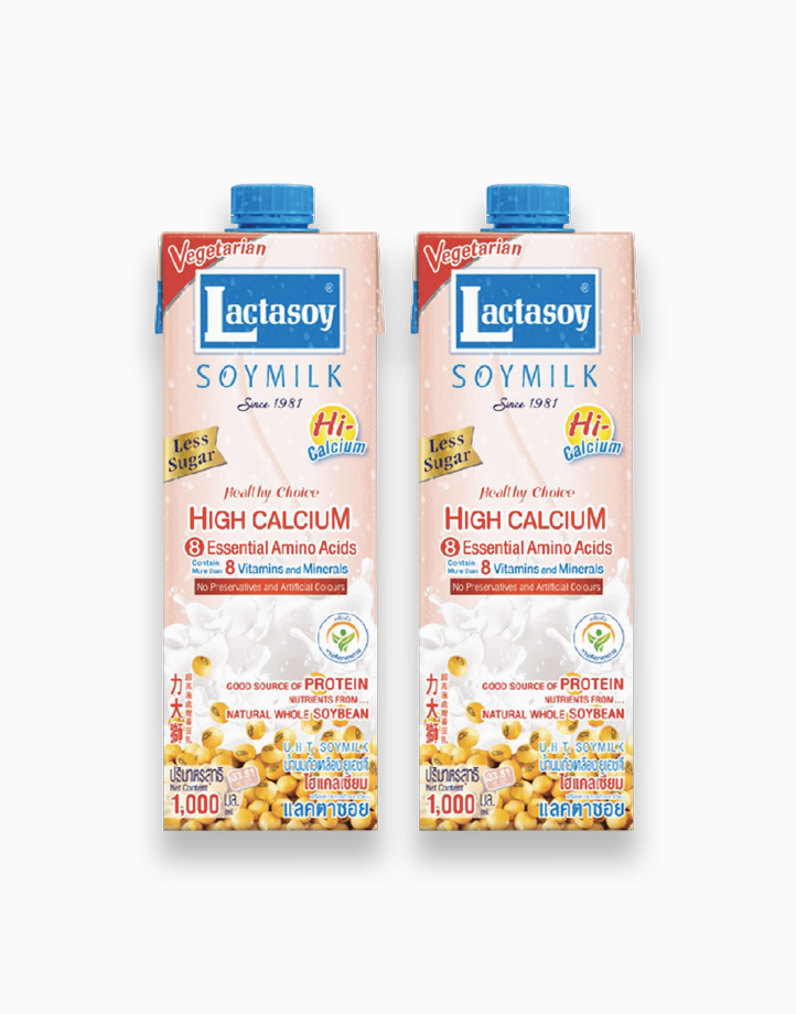 Soymilk High Calcium (1L x 2) by Lactasoy