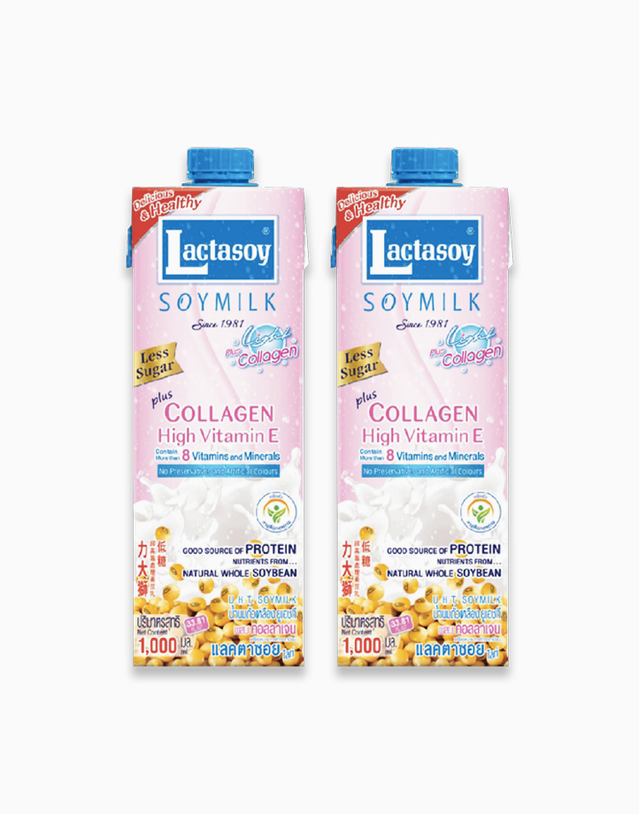 Soymilk Collagen Flavor (1L x 2) by Lactasoy