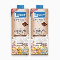 Chocolate soy milk 1l x 2