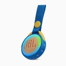 Jr pop portable speaker for kids blue