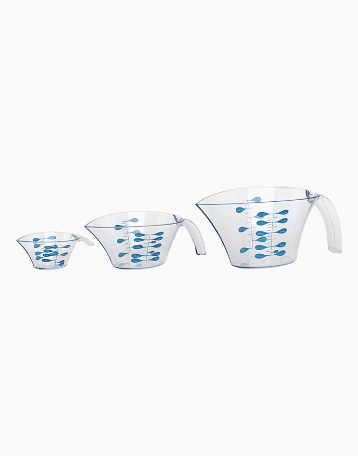 Set of 3 Measuring Cups by Trudeau
