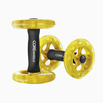Sklz core wheels dynamic strength and ab trainer ab roller wheel