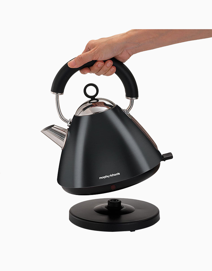 Morphy Richards Accents Traditional Kettle 1.5L by Morphy Richards   Black
