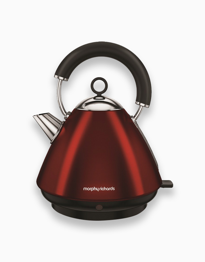 Morphy Richards Accents Traditional Kettle 1.5L by Morphy Richards   Red