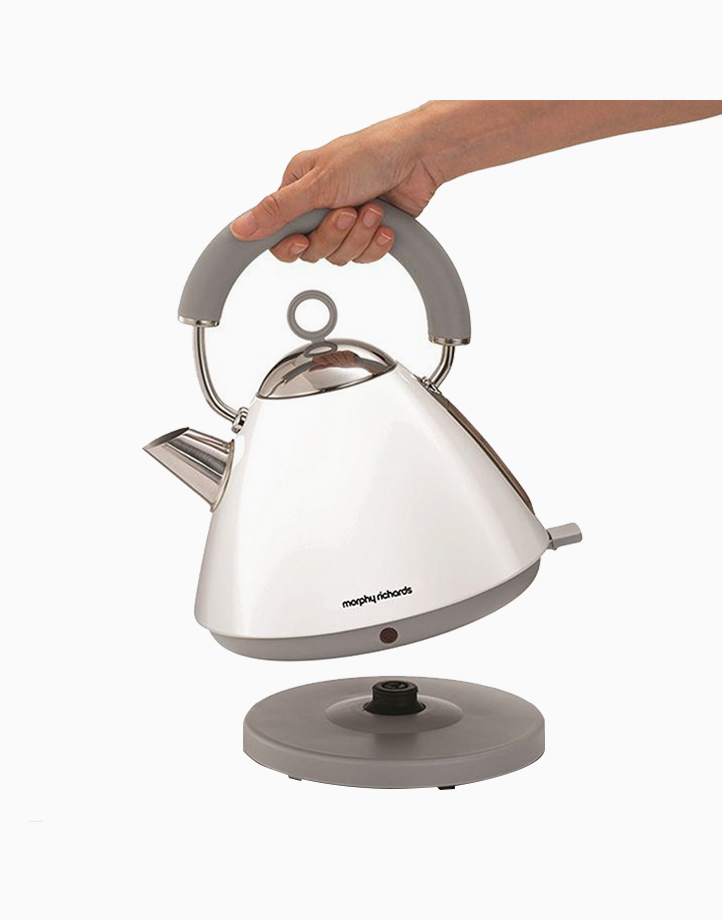 Morphy Richards Accents Traditional Kettle 1.5L by Morphy Richards   White
